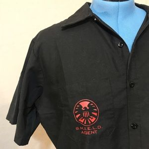 Other - Marvel Agents of SHIELD work shirt